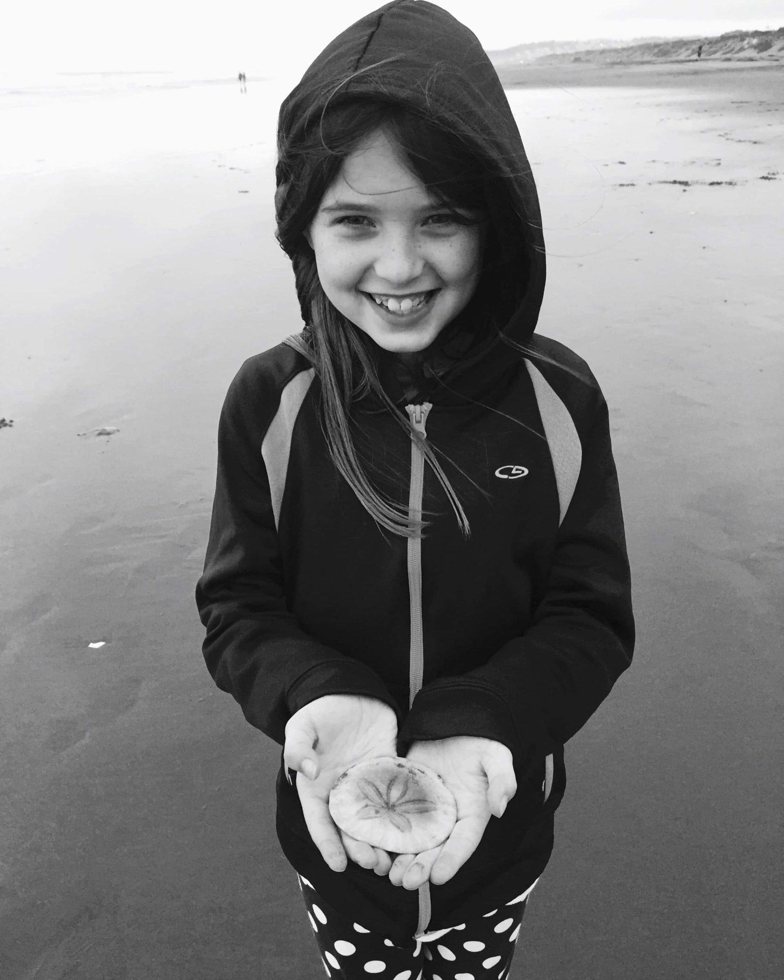 Adventures For Kids in San Francisco Sanddollar Hunting
