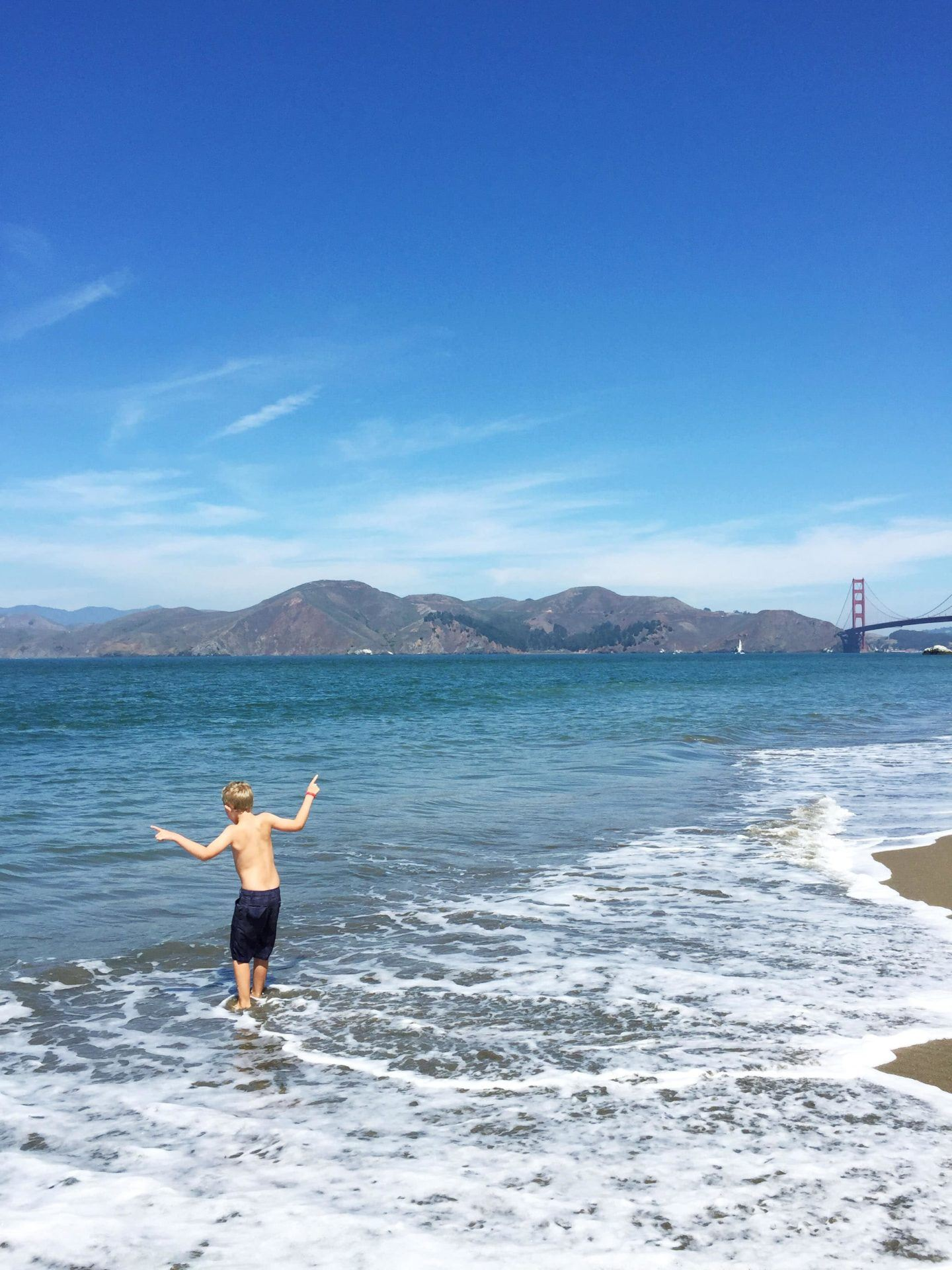 Adventures for Kids in San Francisco Bakers Beach 01