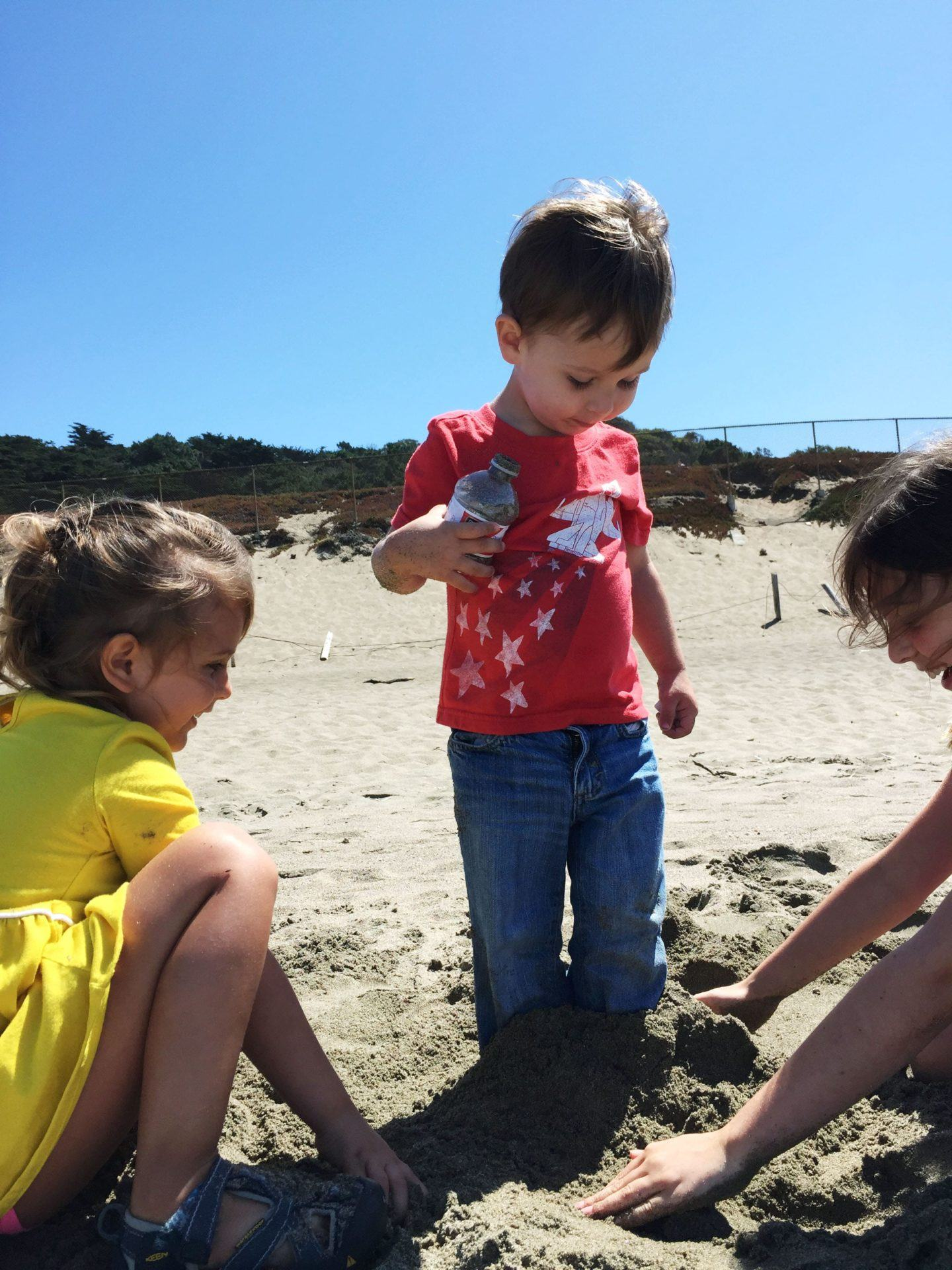 Adventures for Kids in San Francisco Bakers Beach 03