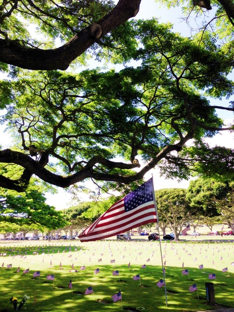 National Memorial Cemetery of the Pacific in Hawaii