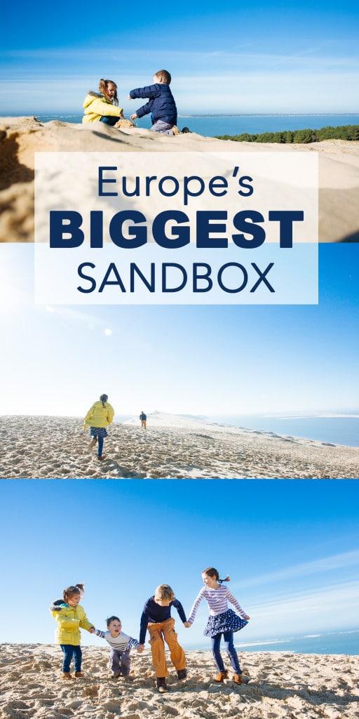 Europe's Biggest Sandbox