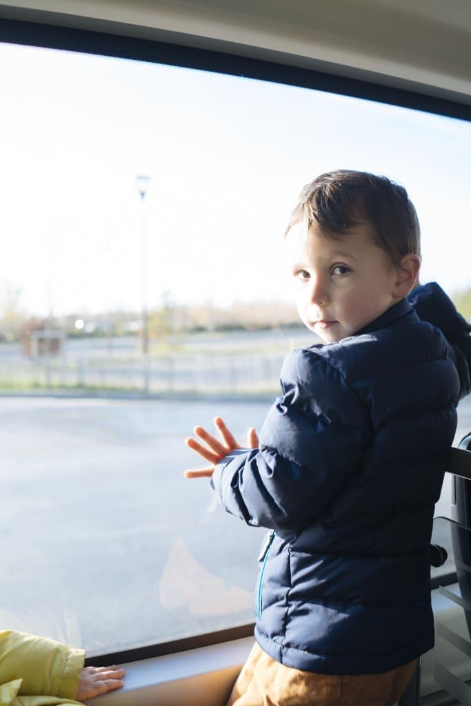 Little Man on the shuttle