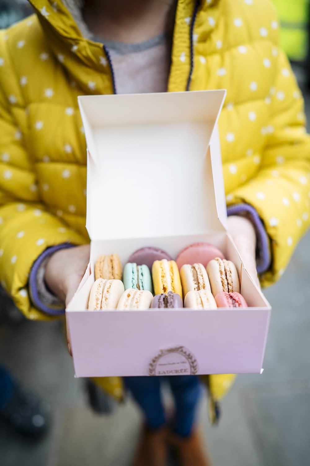 Macarons Paris with Kids