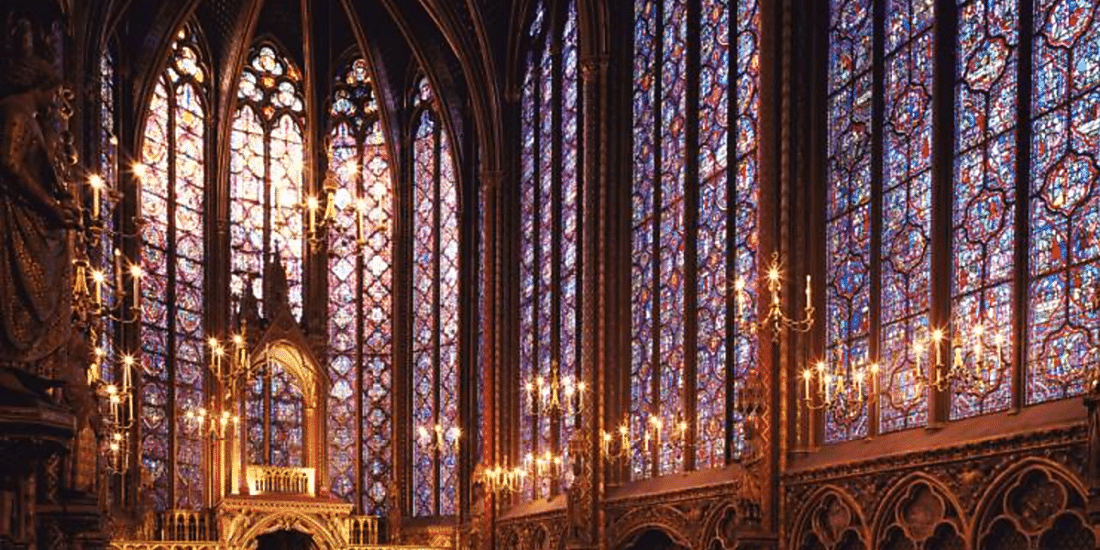 Sainte Chapelle Paris with Kids