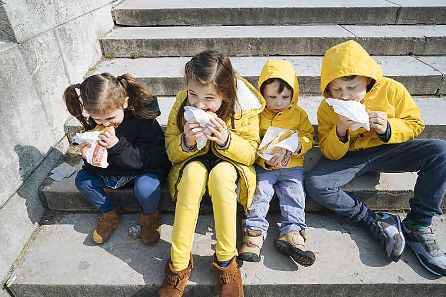 Crepes Paris with Kids
