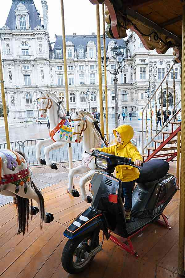 Carousels Paris with Kids