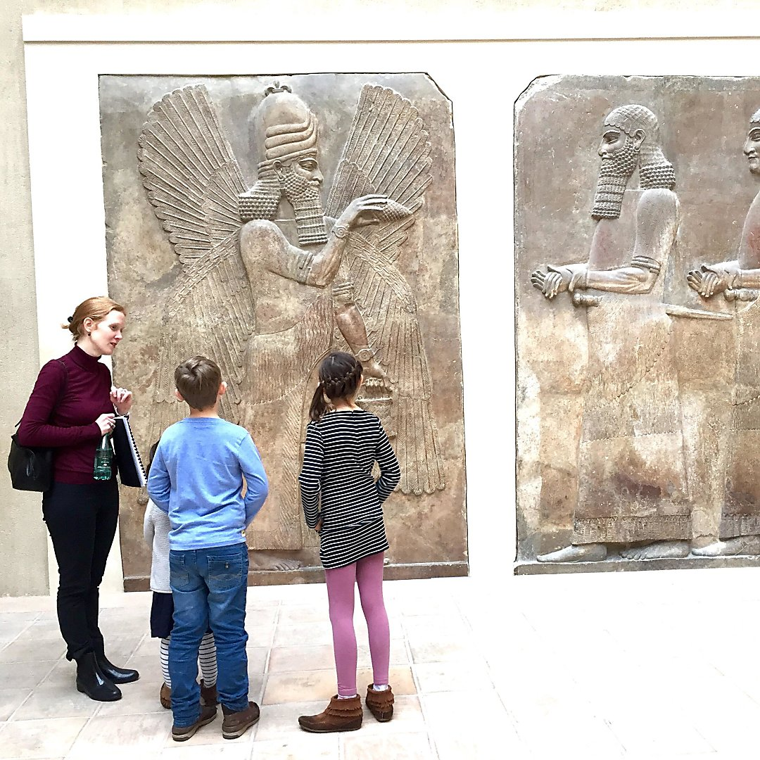 Louvre Paris with Kids