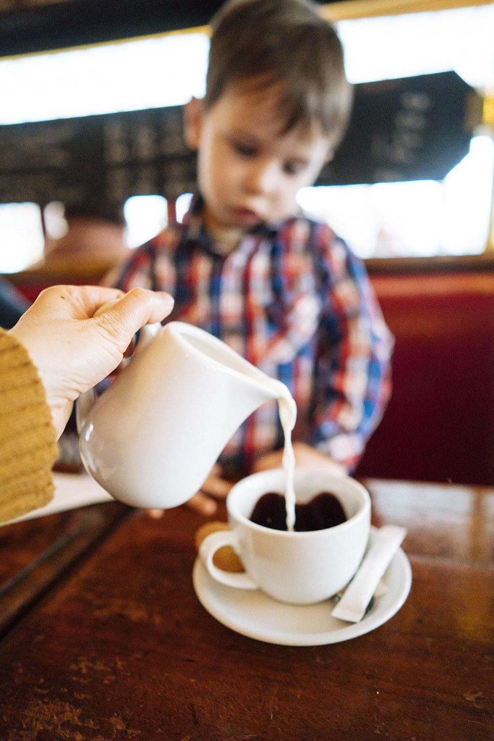 Hot Chocolate Paris with Kids