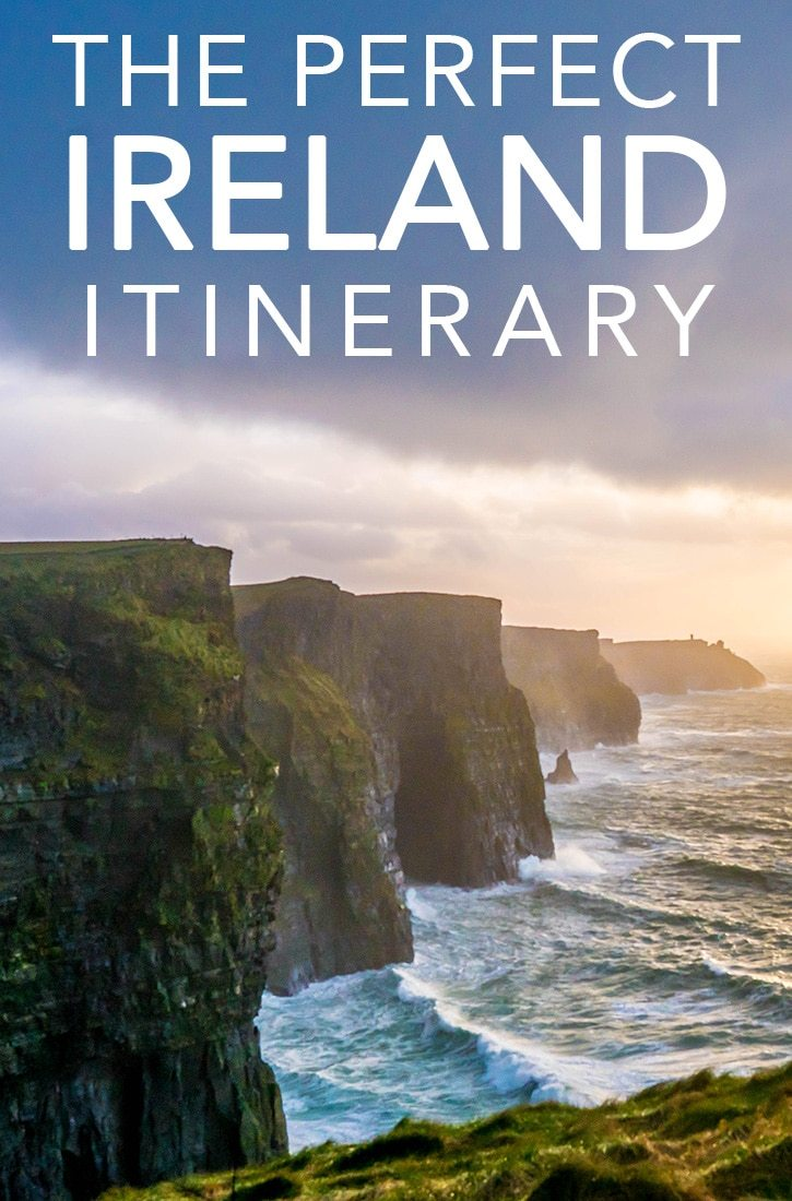 the perfect ireland itinterary