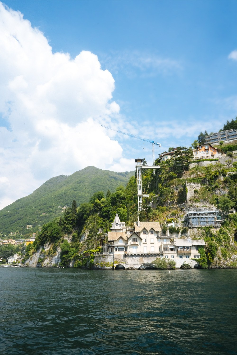boating lake como