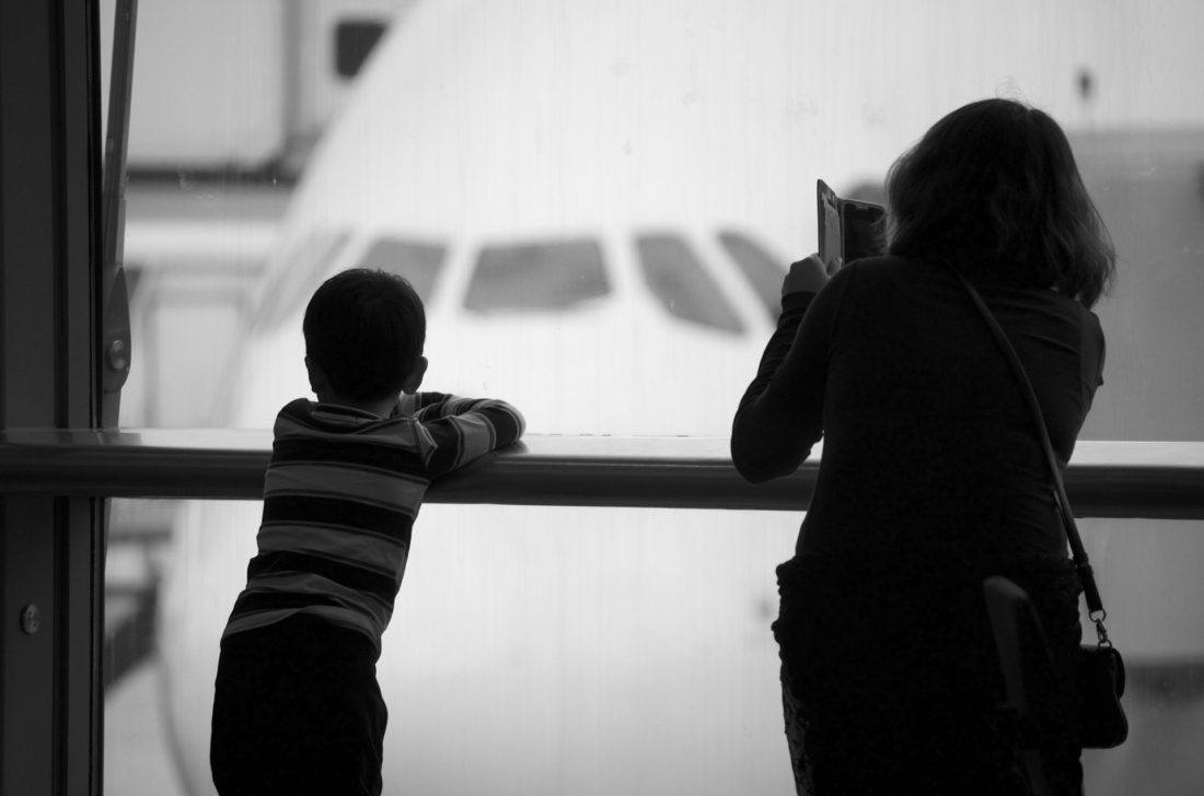 breezing through airports with kids