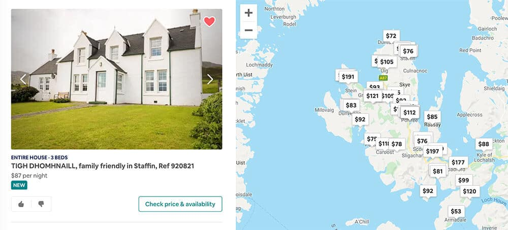Scotland Itinerary Airbnb Wishlist Isle of Skye