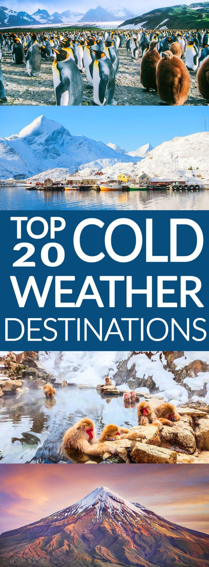 Top 20 Cold Weather Destinations
