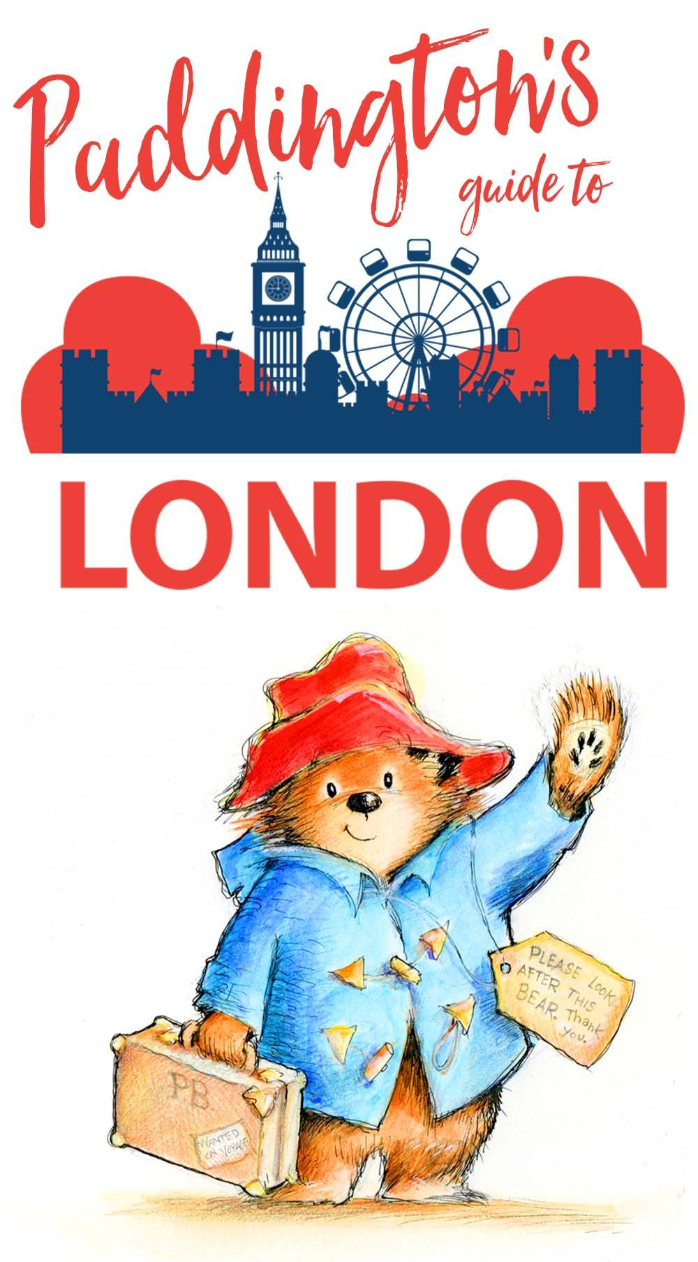 Follow Paddington Bear from deepest, darkest Peru all the way to the busy streets of London to find his favorite spots in this Paddington's Guide to London.