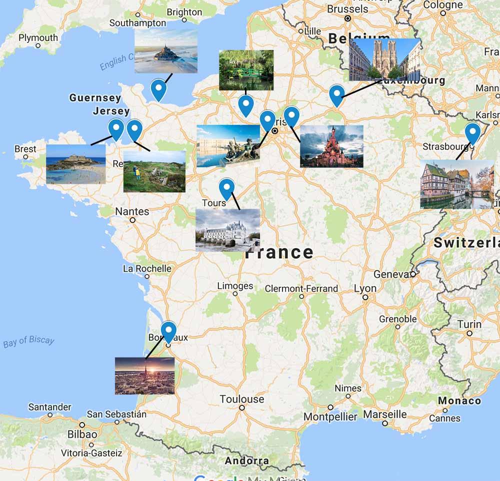 Day Trips from Paris | Wanderlust Crew