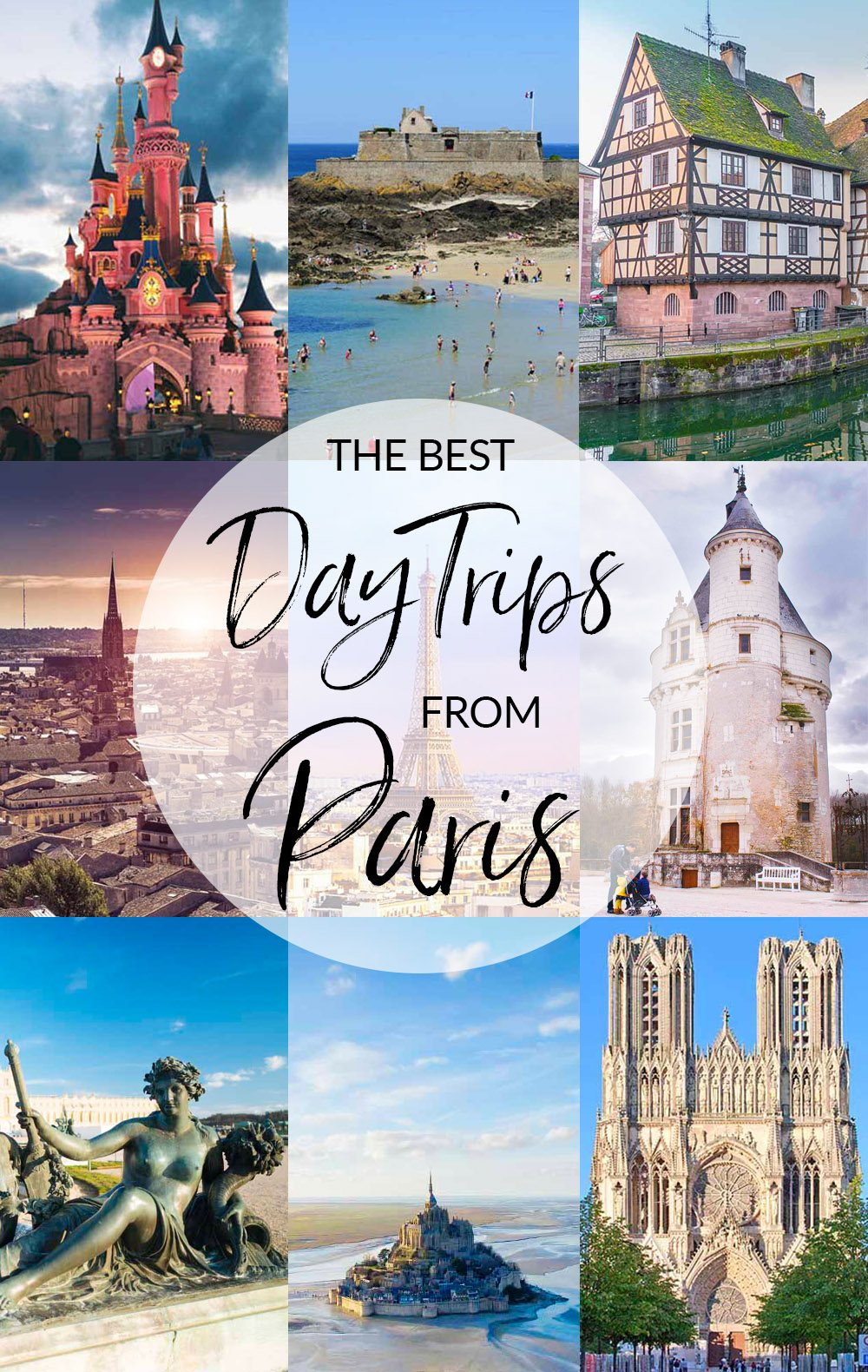 If you're heading to Paris and have a few extra days, get out of the city for a while and discover what France has to offer outside the city of lights. These ten day trips from Paris are our favorite!