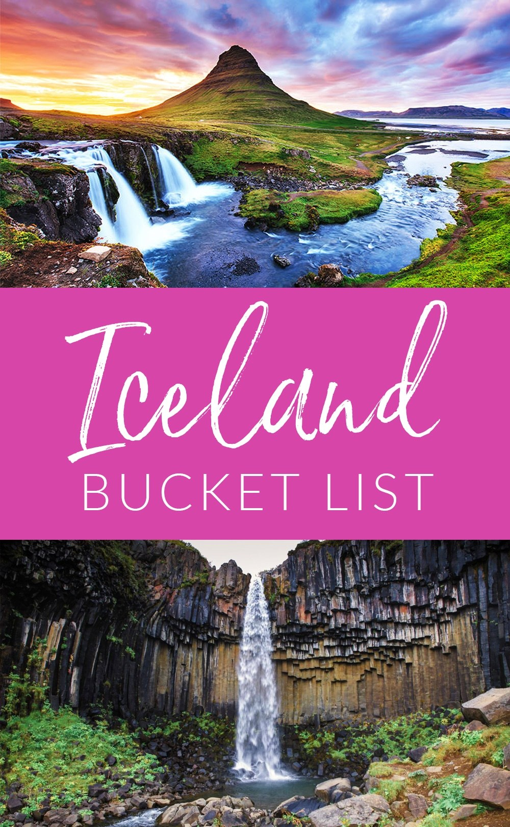 Things to do in Iceland Pin