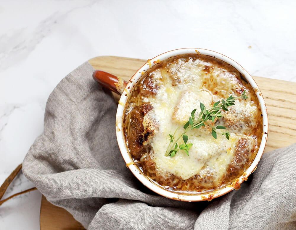 Paris Food French Onion Soup