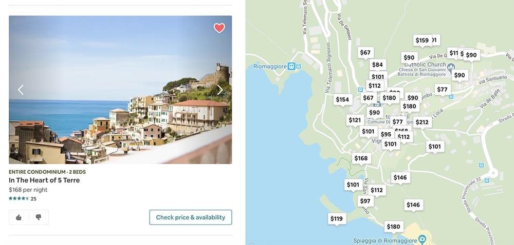 Where to Stay in Cinque Terre Riomaggiore
