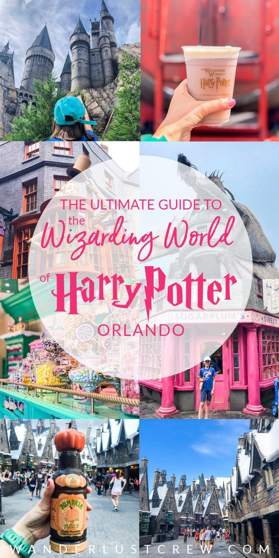 THE ULTIMATE GUIDE TO THE WIZARDING WORLD OF HARRY POTTER ORLANDO! Learn all my best tips and tricks for making the most of your time in this magical world!