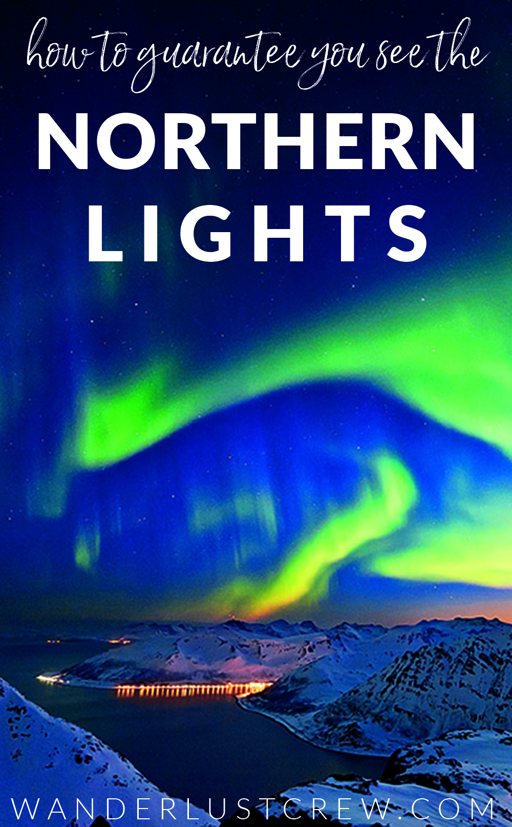 How to Guarantee you see the Northern Lights in Norway