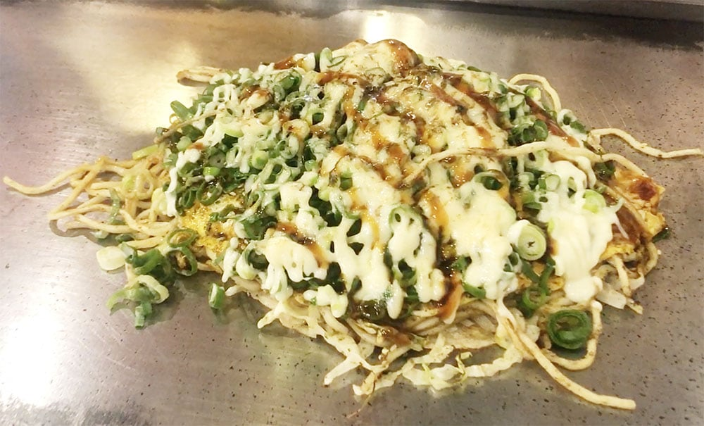 Japan Food Okonomiyaki