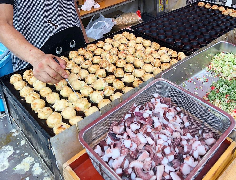 Japan Food Takoyaki