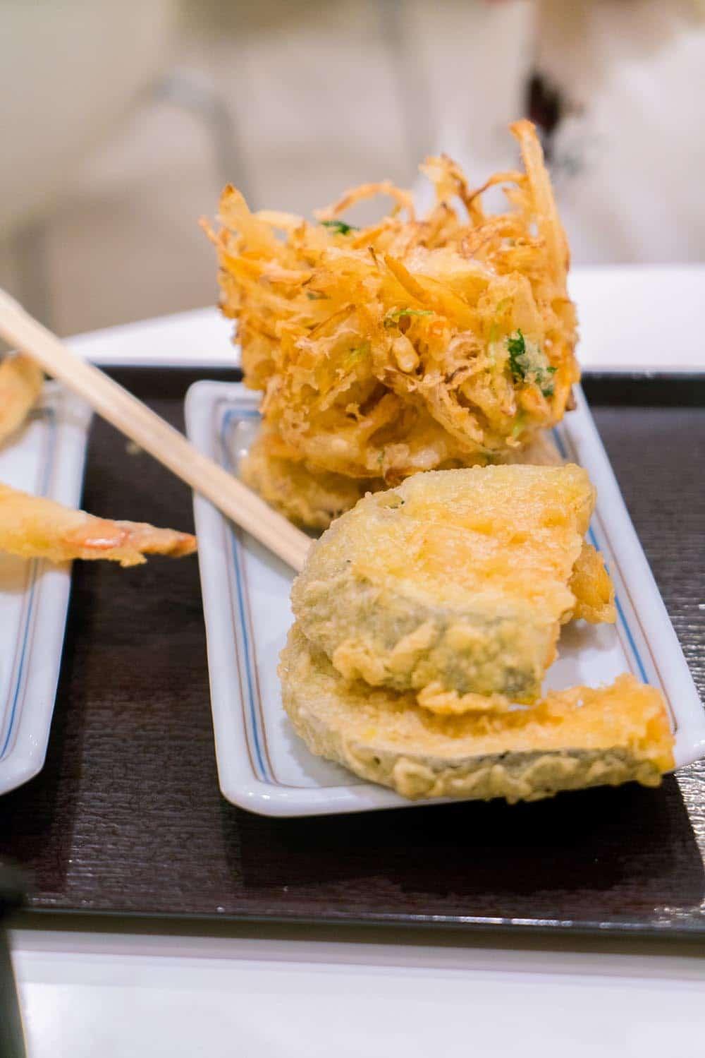 Japan Food Tempura