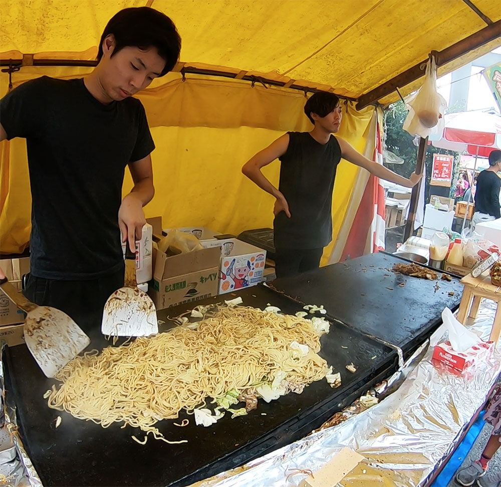 Japan Food Yakisoba