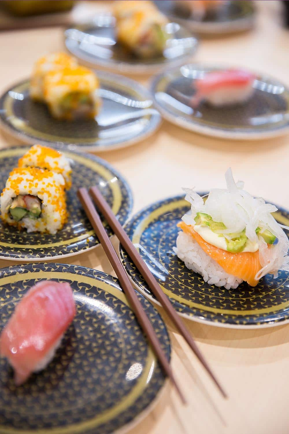 Japan Food Sushi. Japan Itinerary