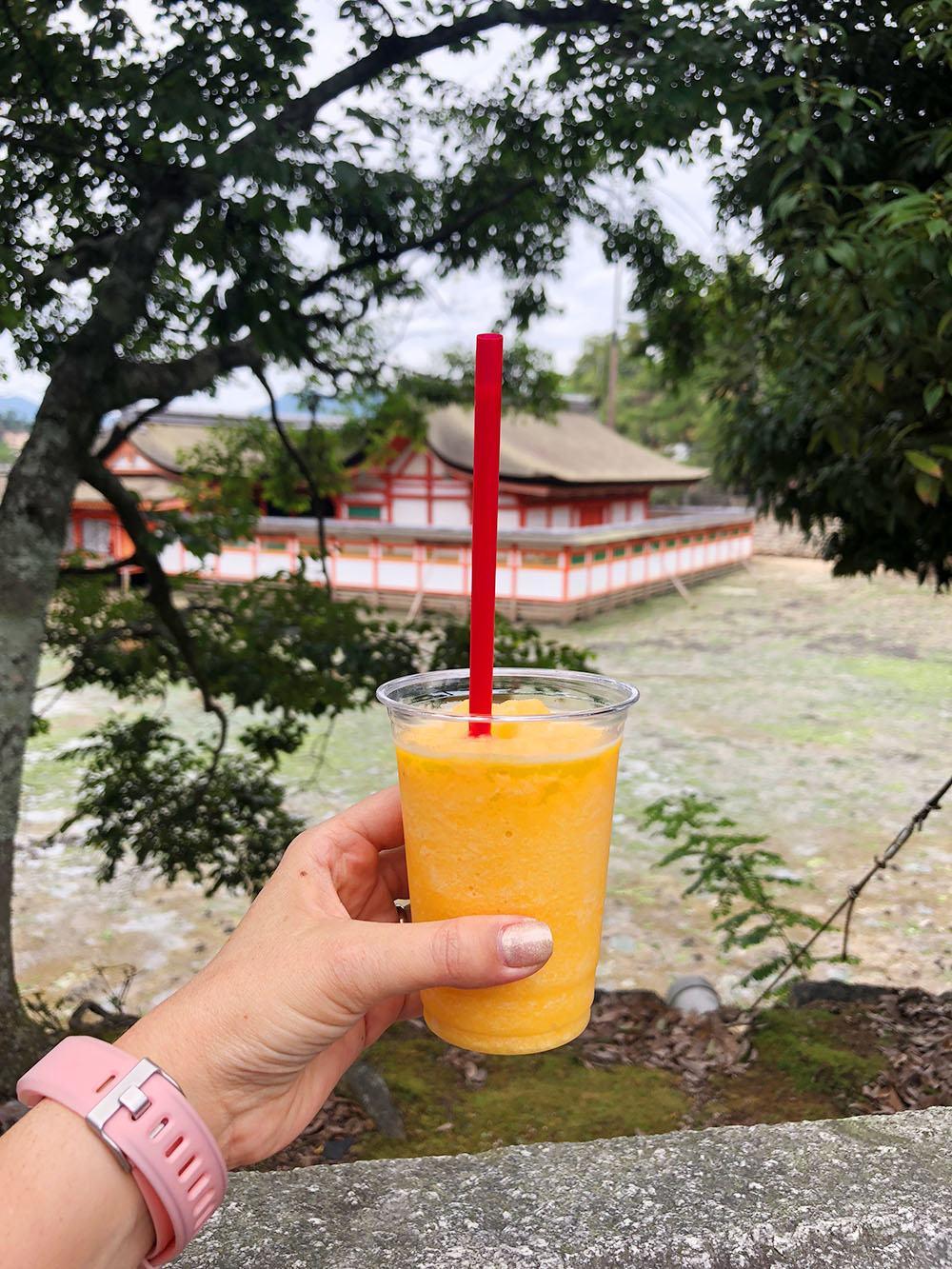 Miyajima Island Mikan Orange Smoothie