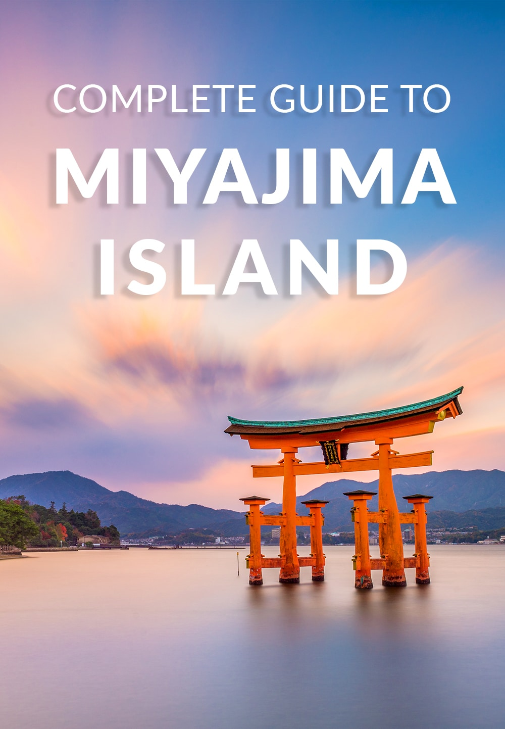 As one of Japan's top sites, a day trip to Miyajima Island to see the famous floating Itsukushima Torii Gate is a must while in Japan. #miyajima #Japan #travel #torii