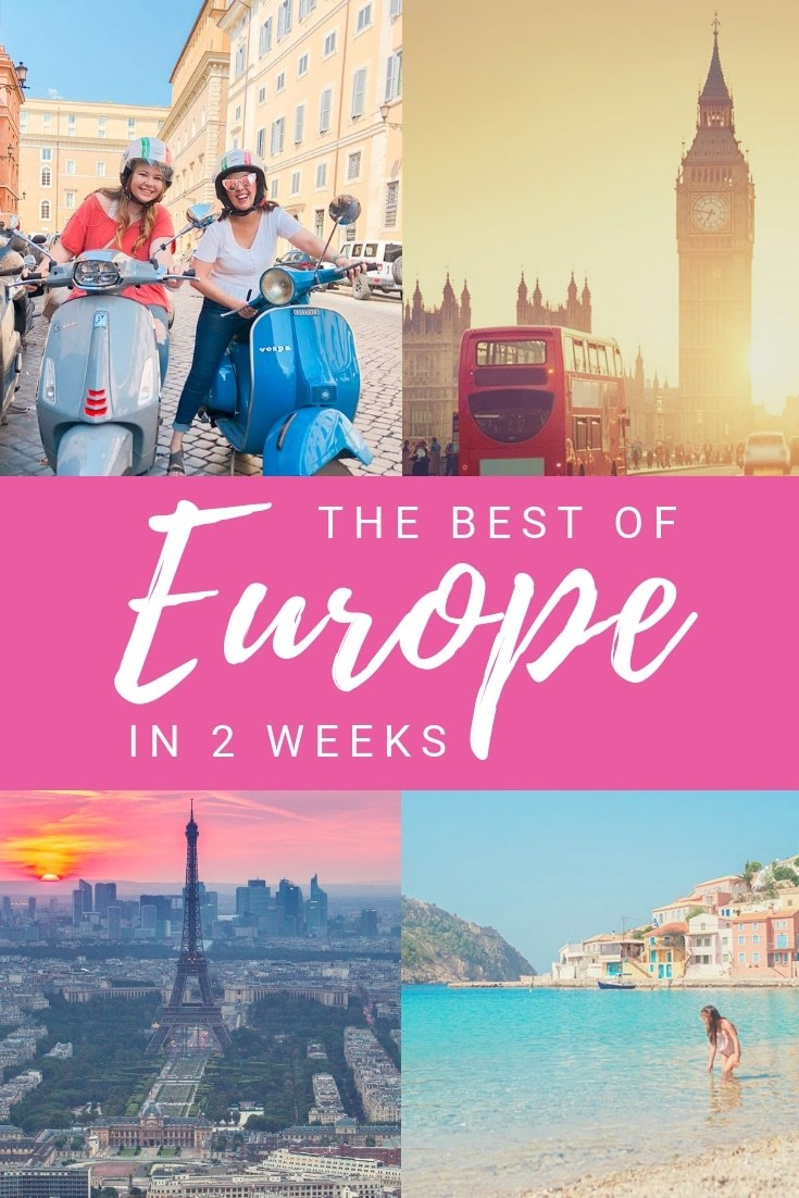 Travel for Teens Europe Trip Itinerary