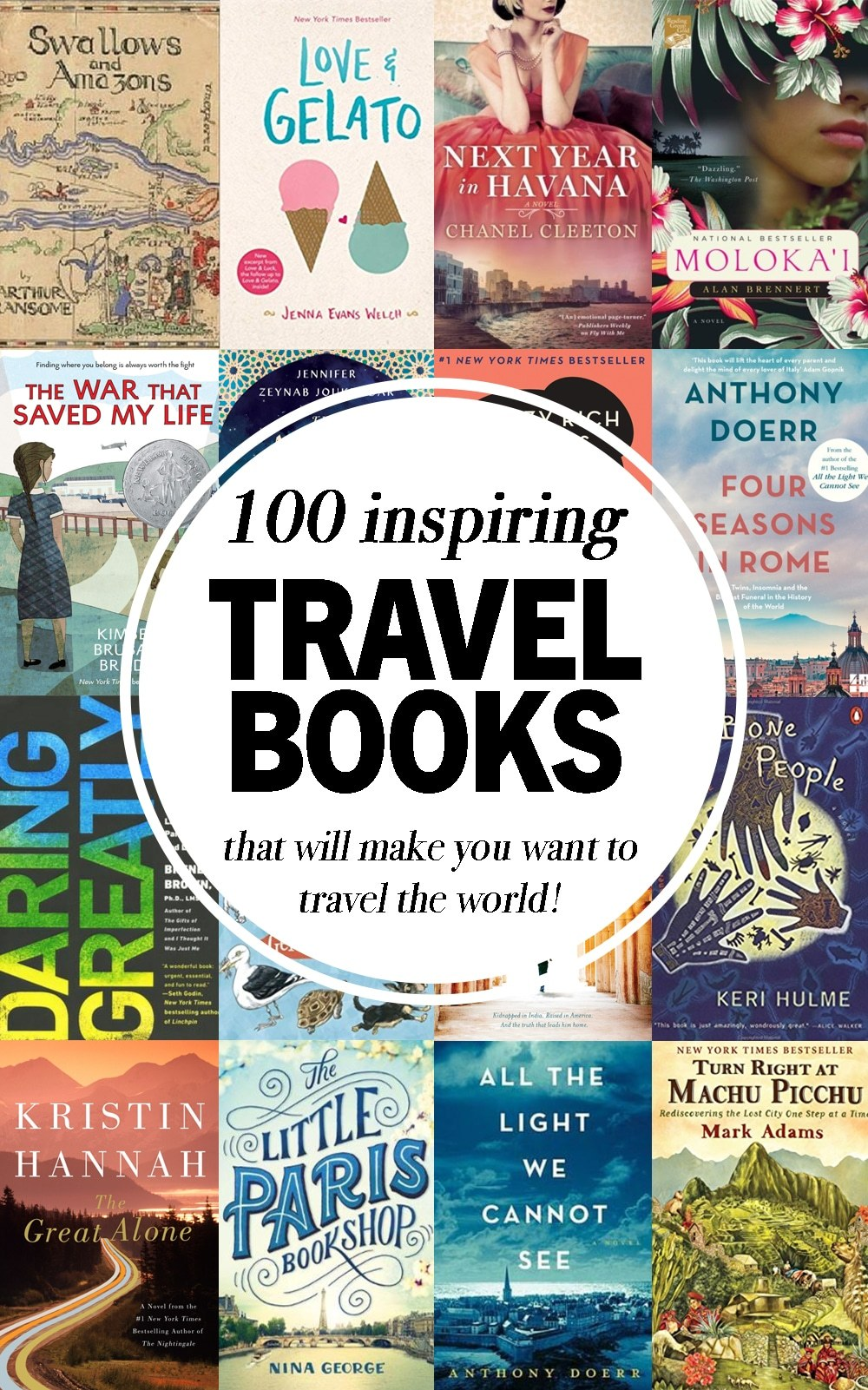 Best Travel Books from Around the World
