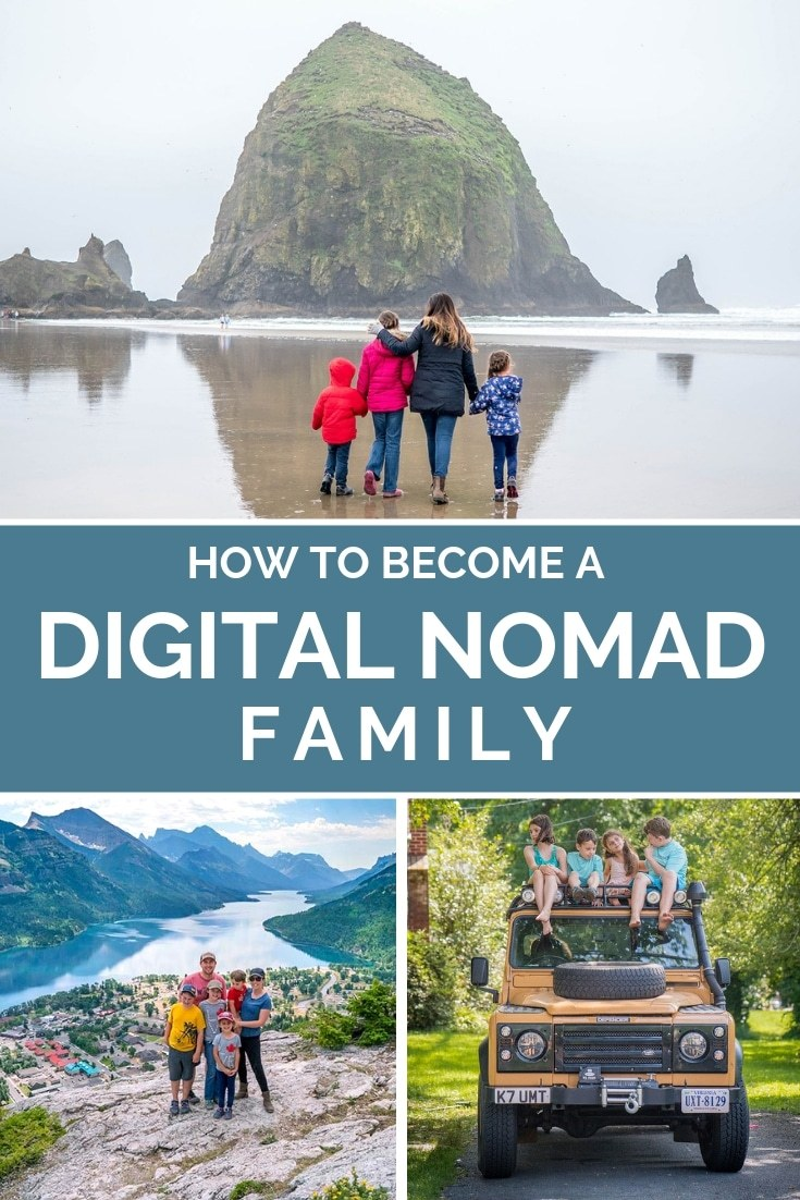 How to Become a Digital Nomad Family