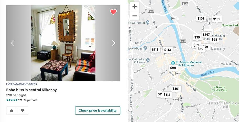 Ireland Itinerary Airbnb