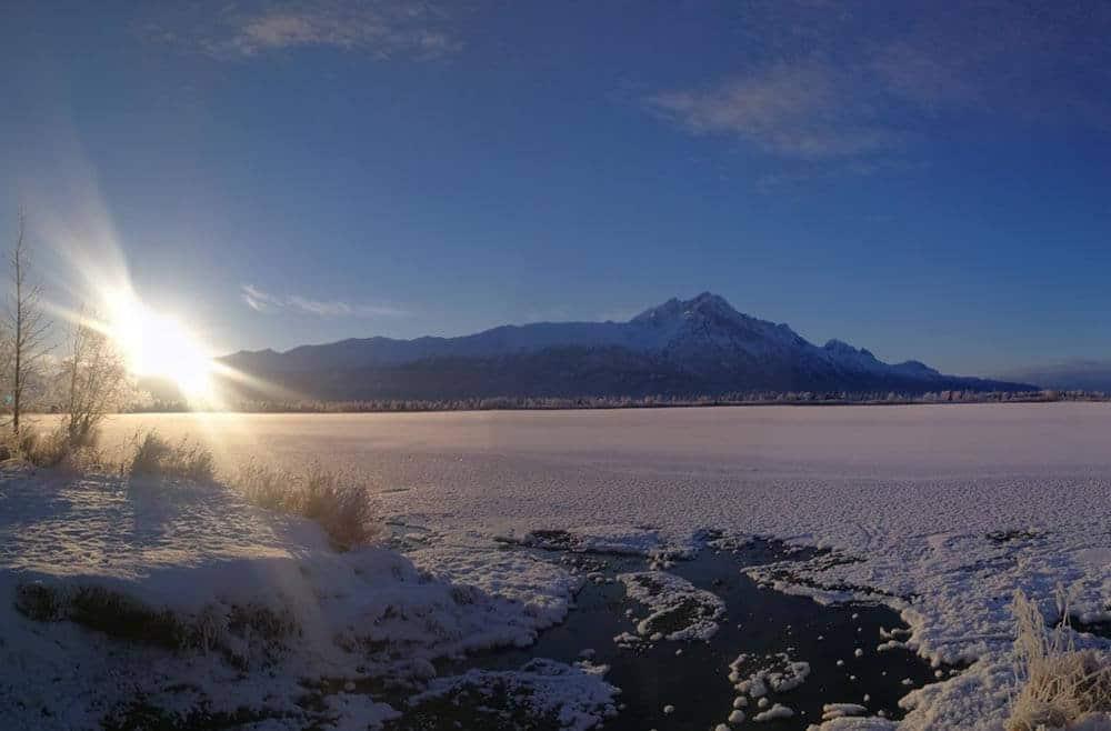 RV camping in Alaska