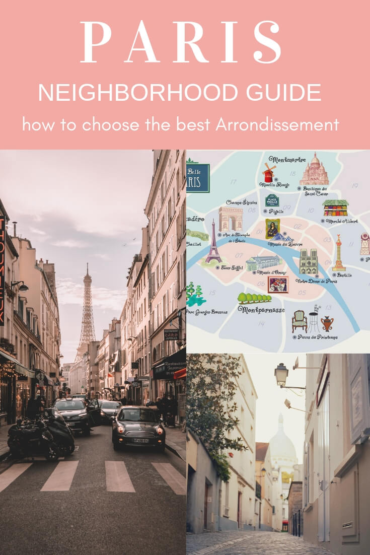 Where to stay in Paris- This Paris neighborhood guide will help you discover the best places to stay in Paris #Paris #Neighborhood #Airbnb