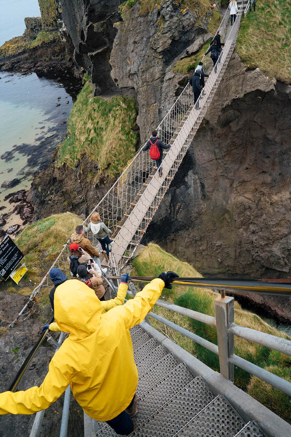 The Best Places to Visit in Ireland Carrickarede Rope Bridge