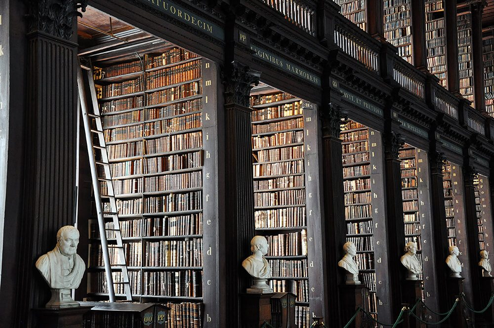 The Best Places to Visit in Ireland Trinity College Library