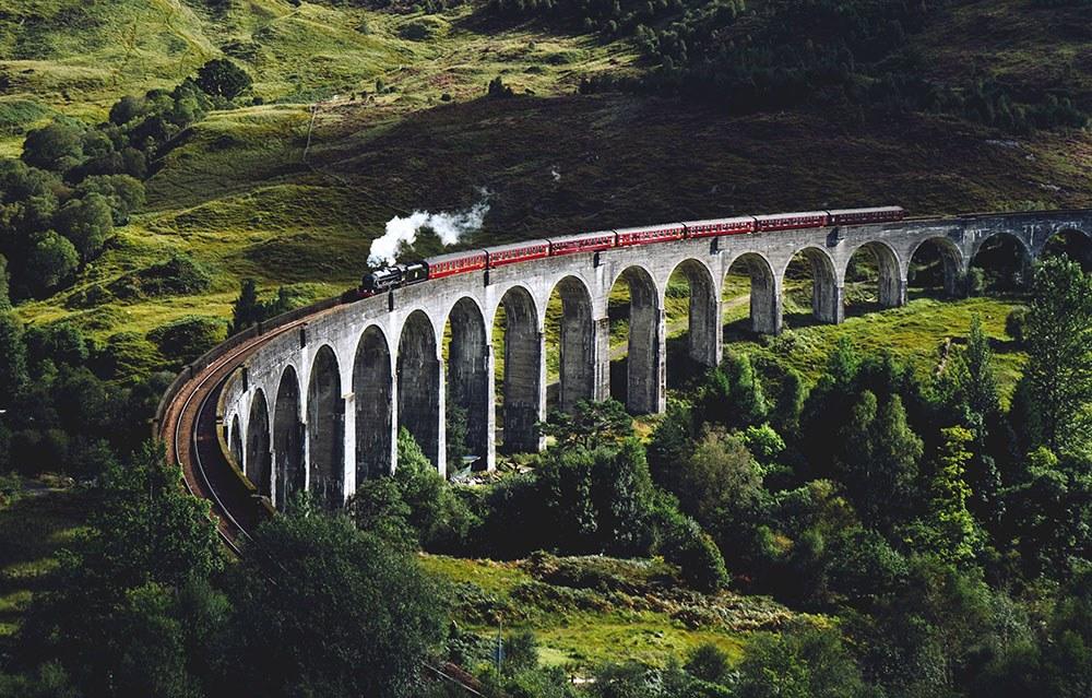 Europe Travel Tips Train in Scotland