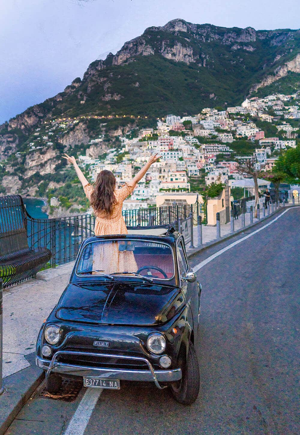 Europe Travel Tips Driving in Amalfi