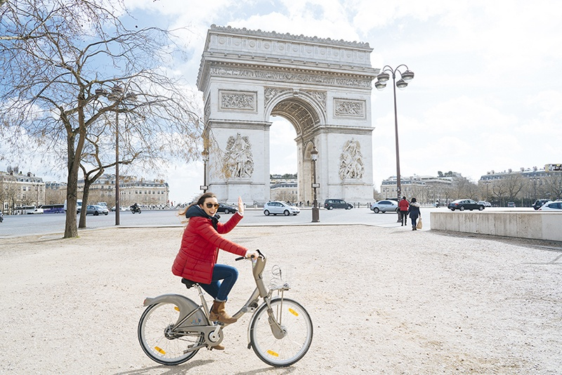 Velib Paris Bike Rental