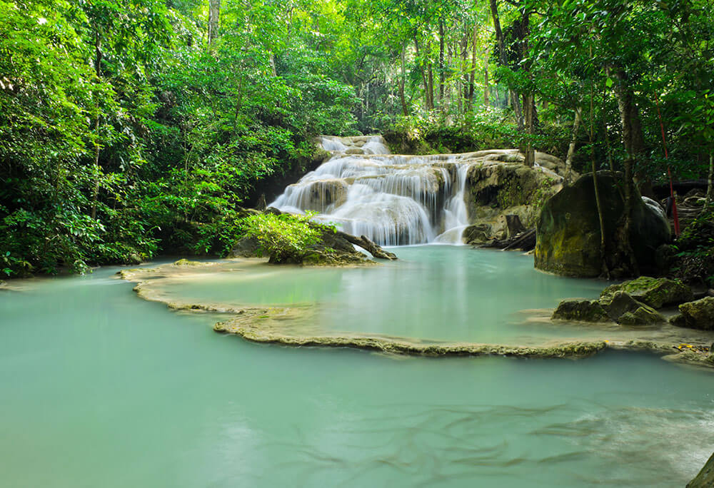 Things to do in Thailand Erawan Falls