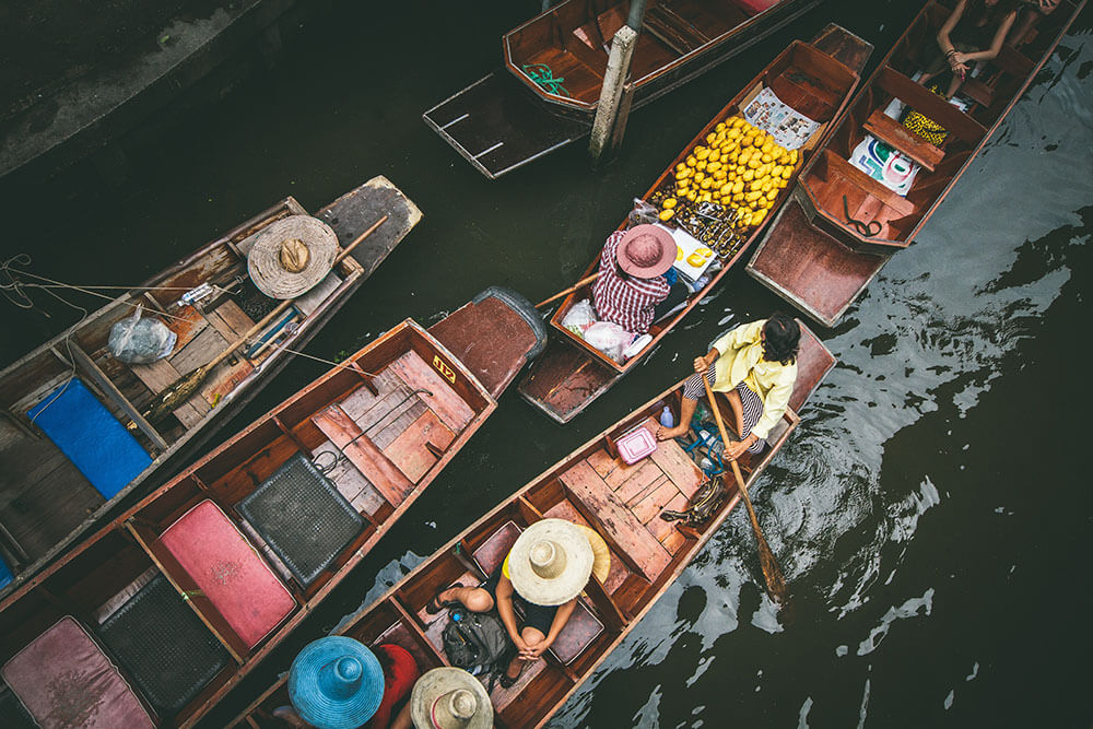 Things to do in Thailand Floating Market