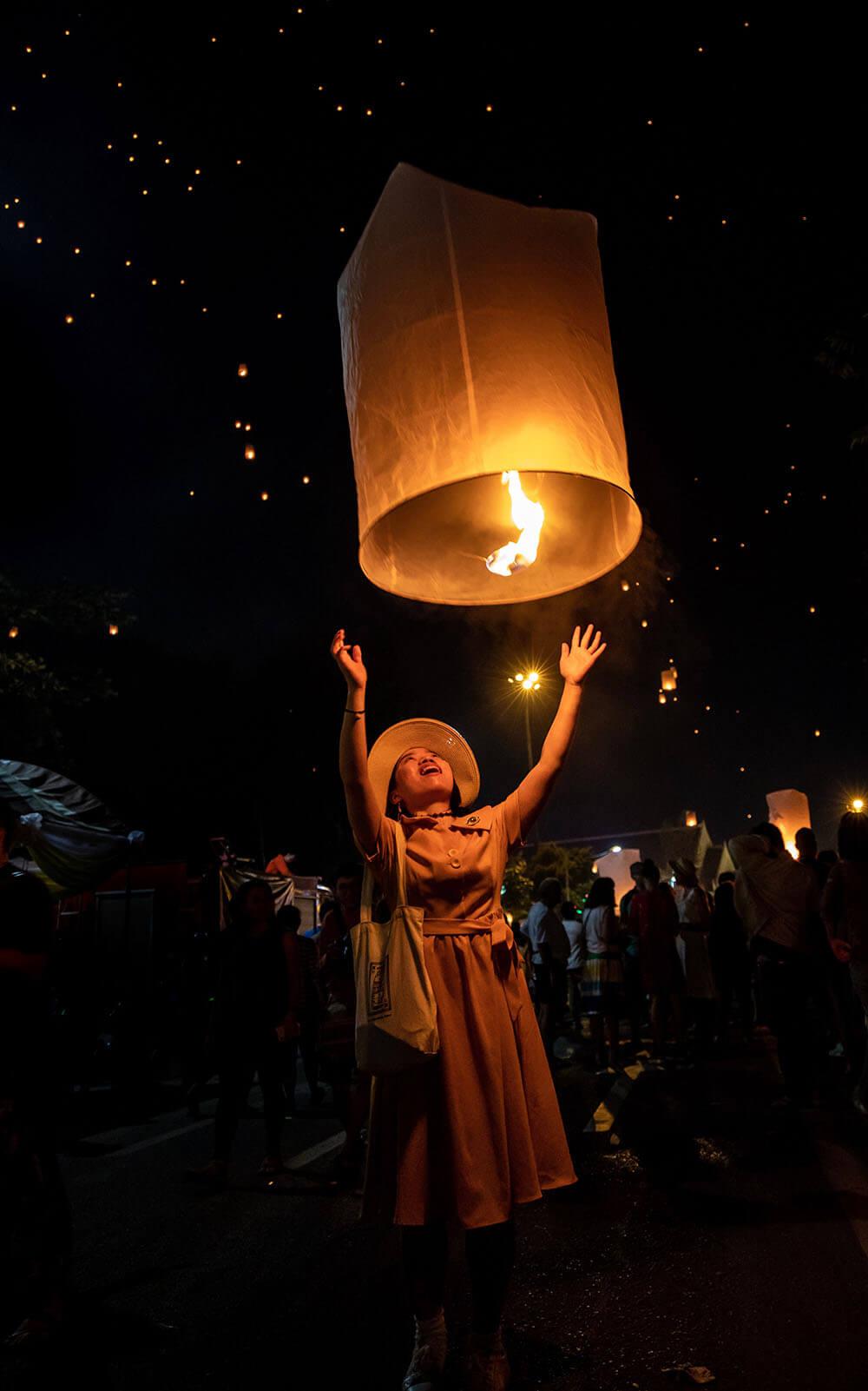 Loi Krathong Lantern Festival