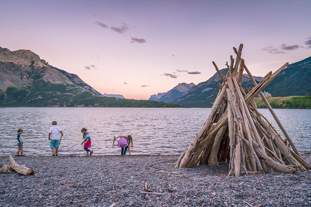 Alberta Canada Waterton Lakes National Park