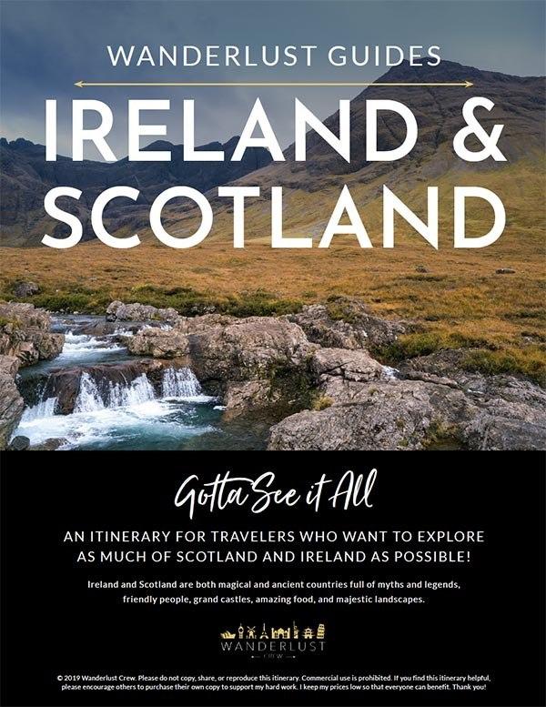 Ireland Scotland Itinerary