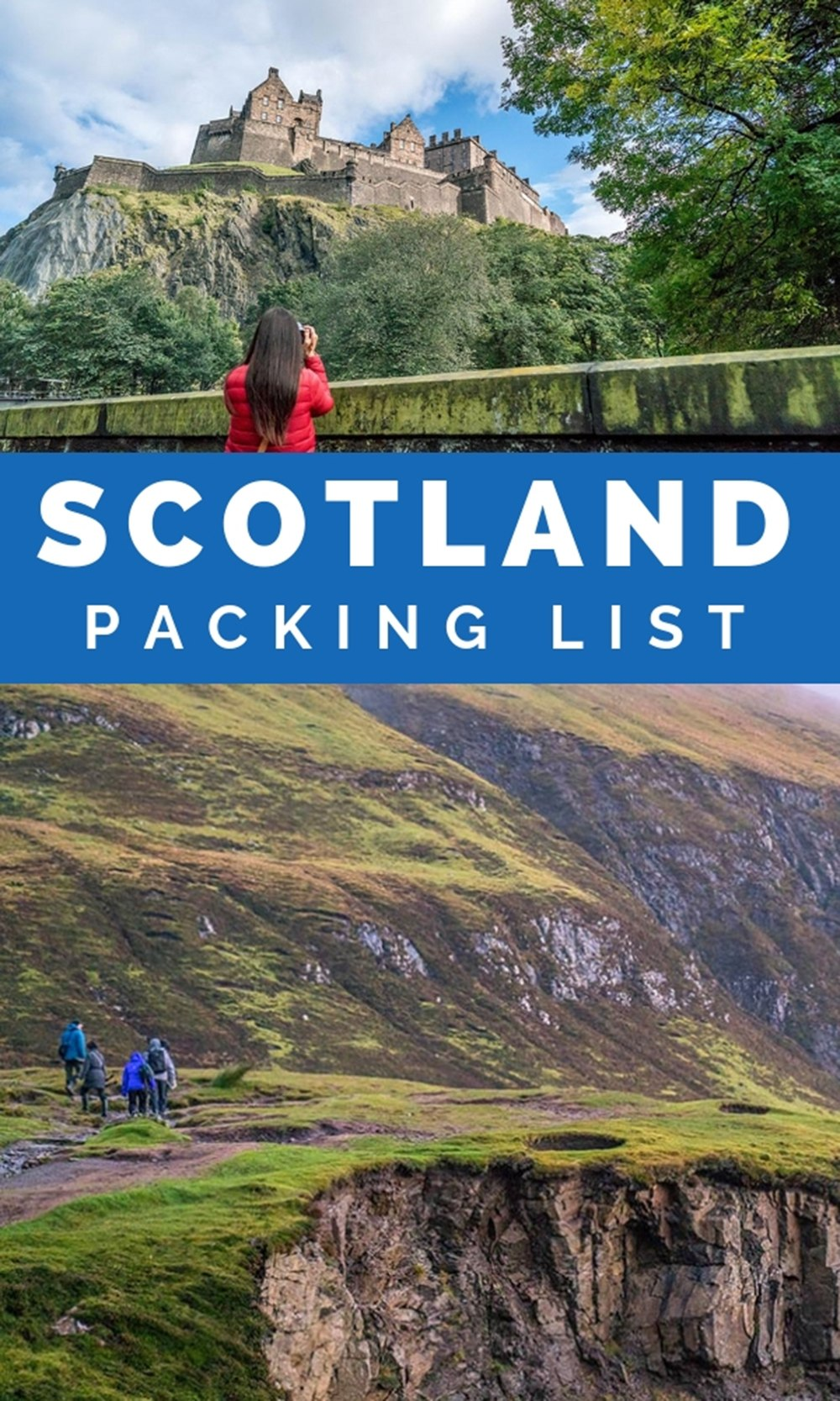 Scotland Packing List: What to Bring and What to Wear in