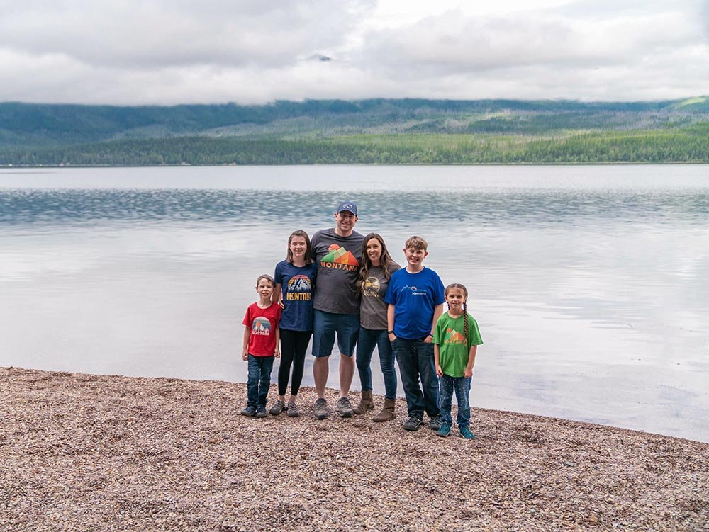 Glacier National Park Trip for Families